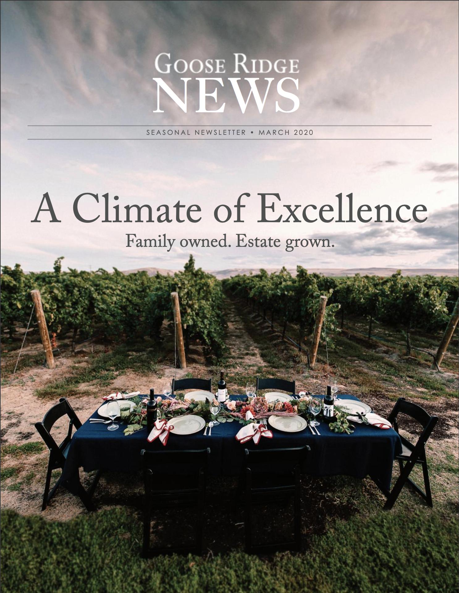 Goose Ridge News - Vol 1