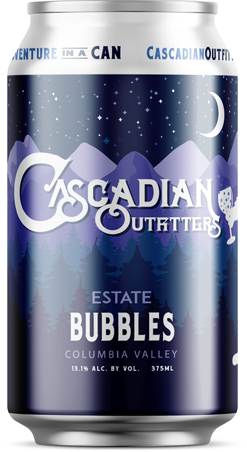 Cascadian Outfitters Sparkling White