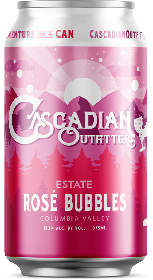 Cascadian Outfitters Sparkling Rosé